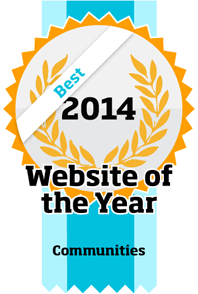 Website of the year 2014 - Best website - Communities category